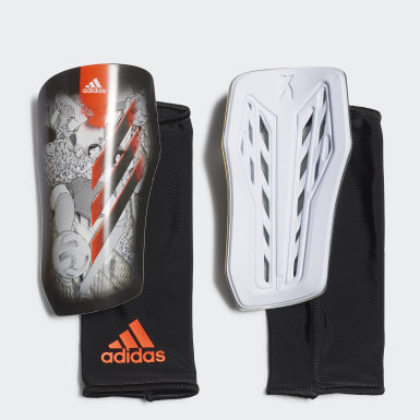 Football White X Captain Tsubasa League Shin Guards