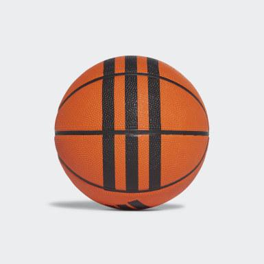 Basketball 3-Streifen Mini-Basketball Orange