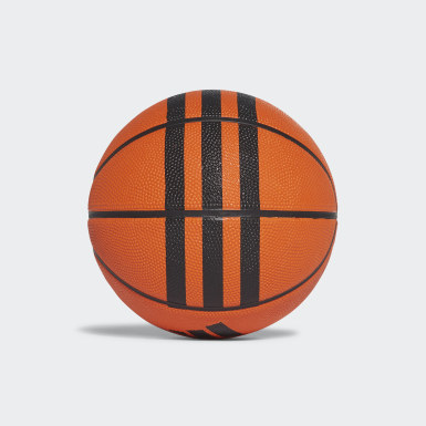Basket Orange 3-Stripes Minibasketboll