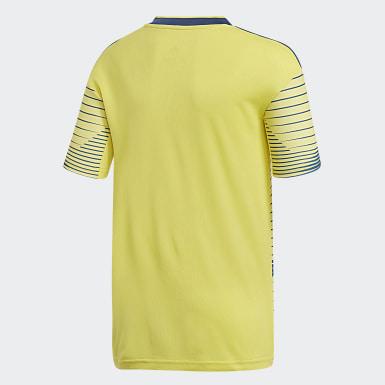 Camisa 1 da Colômbia Amarelo Meninos Futebol