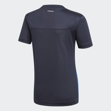 Playera Equipment Azul Niño Training