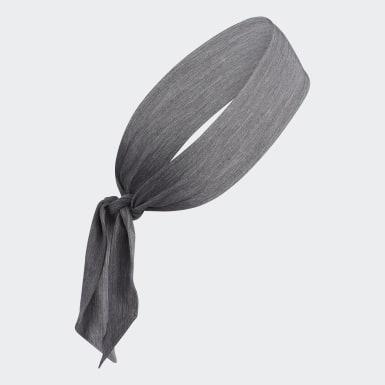 Hiking Grey Alphaskin Plus Tie Headband