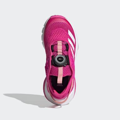 Mädchen Training ActiveFlex Boa Schuh Rosa