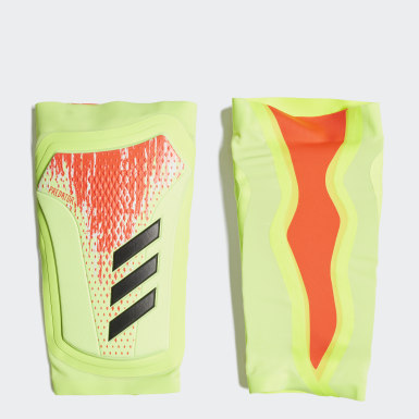 Football White Predator 20 Pro Shin Guards