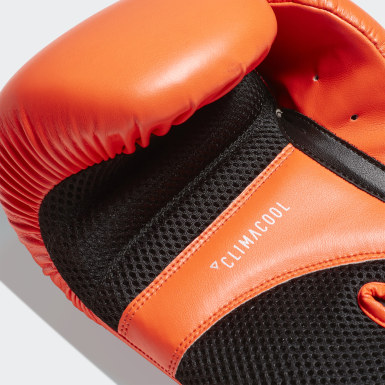 Boksen oranje Speed 100 Bokshandschoenen