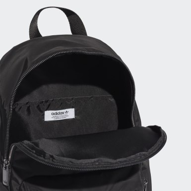 Women Originals Black Nylon Backpack