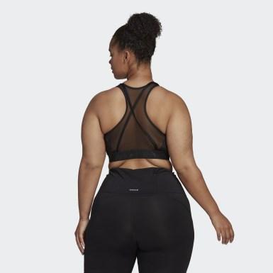 Sujetador Don't Rest Badge of Sport Glam On (Tallas grandes) Negro Mujer Estudio