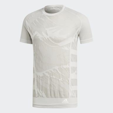 Camiseta Ultra Primeknit Parley Branco Homem Running