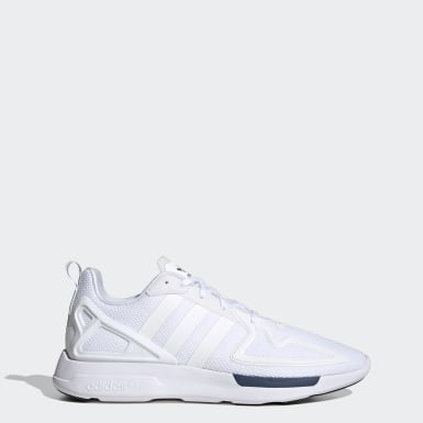 Originals White ZX 2K Flux Shoes