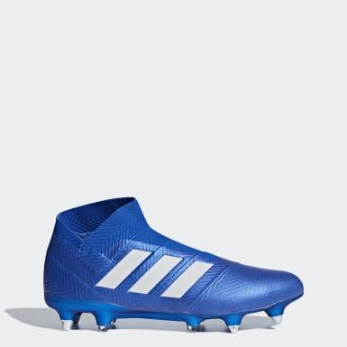 синий Футбольные бутсы Nemeziz 18+ SG