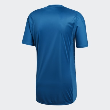 Heren Voetbal Turquoise Real Madrid Keepersshirt Uit