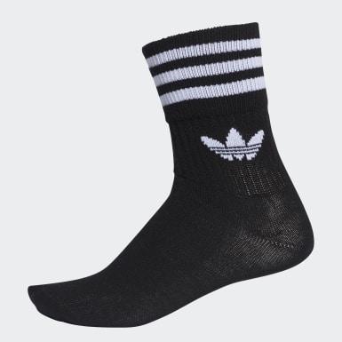 Originals černá Ponožky Mid-Cut Crew – 3 páry