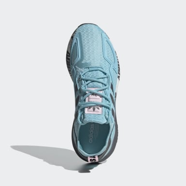 Women Originals Blue ZX 2K Boost Shoes