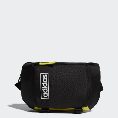 Sport Inspired Black Crossbody Bag