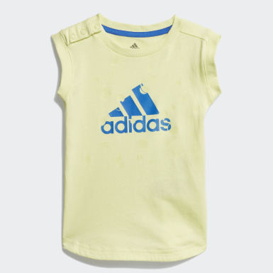 Jungen Training Style Sommer-Set Gelb