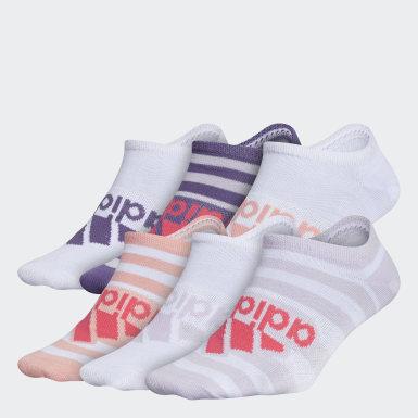 Children Training Multicolor Superlite Badge of Sport No-Show Socks 6 Pairs