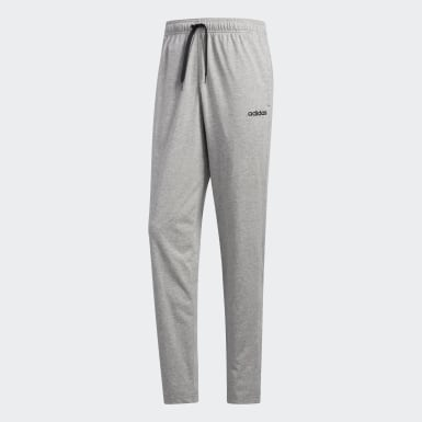 Erkek Training Grey Essentials Plain Tapered Eşofman Altı