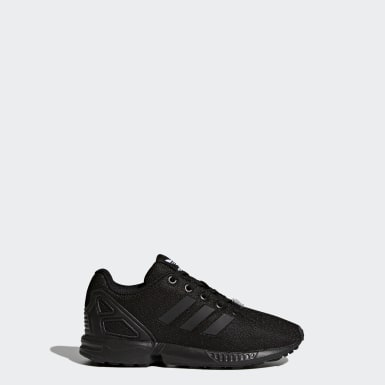 Kids 4-8 Years Originals Black ZX Flux Shoes