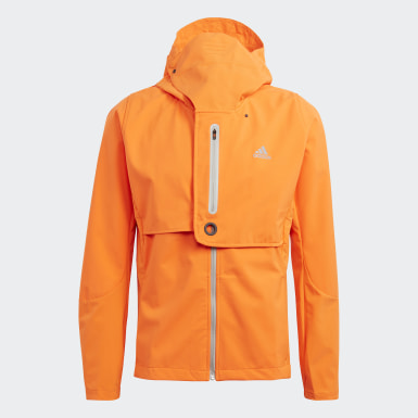Giacca WIND.RDY Arancione Uomo Running