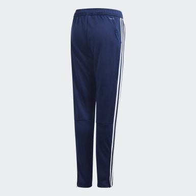 Pantaloni da allenamento Tiro 19 Blu Bambini Training