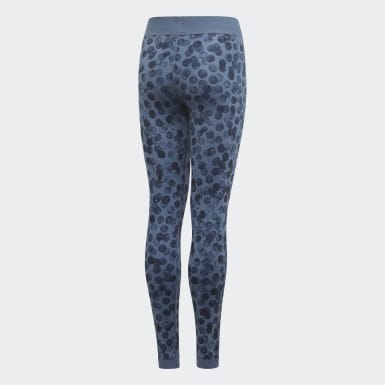 YG TR REV TIGHT Bleu Filles Training