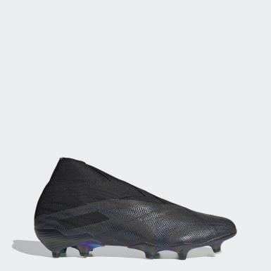 Voetbal zwart Nemeziz+ Firm Ground Voetbalschoenen