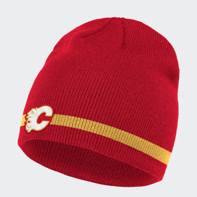 Men Hockey Multicolor Flames Coach Beanie