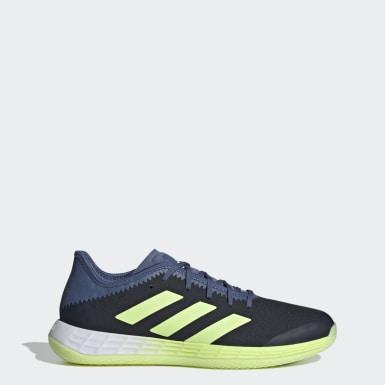 Netbal Blauw Adizero Fast Court Schoenen