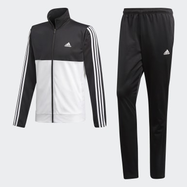 Tuta Back 2 Basics 3-Stripes Nero Uomo Athletics