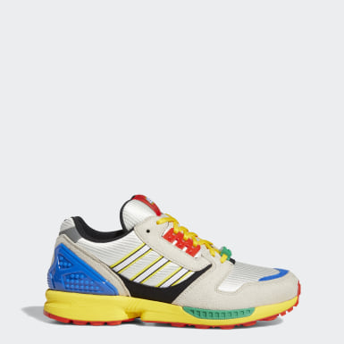 Originals Yellow ZX 8000 LEGO Shoes