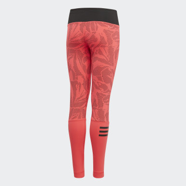 Youth Training Pink Training Summer Tights