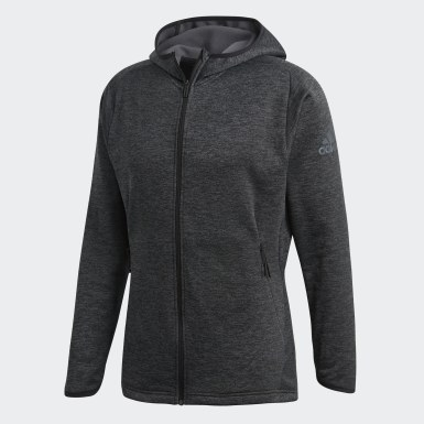 Men Training Grey FreeLift Tech Warm Hoodie
