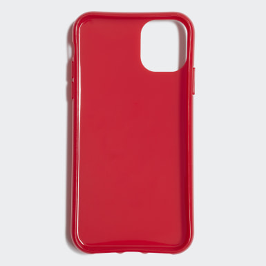 Capa de Encaixe Trefoil – iPhone 11 Vermelho Originals