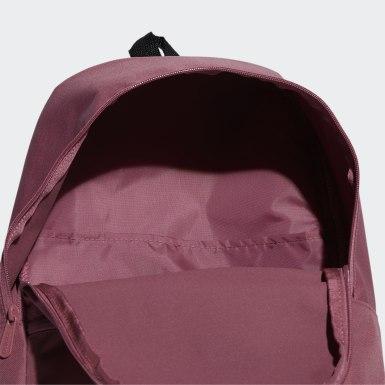 Sport Inspired สีชมพู กระเป๋าเป้ Linear Classic Daily