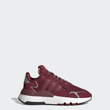Youth 8-16 Years Originals Burgundy Nite Jogger Shoes