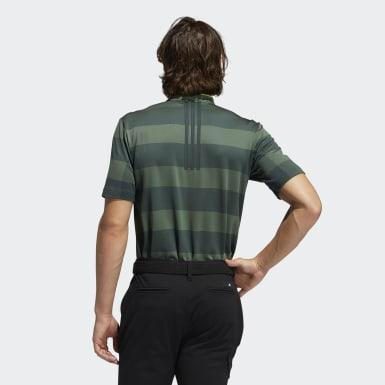 Men Golf Green Primeknit Polo Shirt