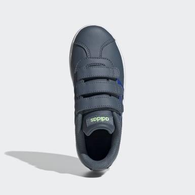 Chaussure VL Court2.0 Bleu Enfants Lifestyle