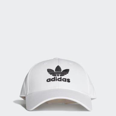 Trefoil Baseball Caps Hvit