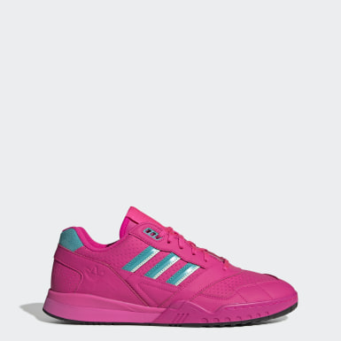 Originals Pink A.R. Trainer Shoes