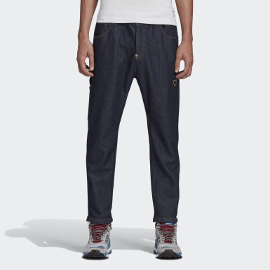 Men Originals Blue Human Made Denim Track Pants