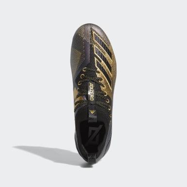 Men's Football Black Adizero 8.0 Cleats