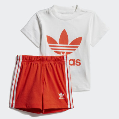 Trefoil Shorts Tee Set