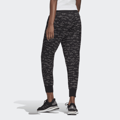 Pantalon adidas Sportswear Winners Allover Print Noir Femmes Athletics