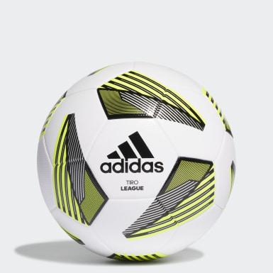 Fodbold Hvid Tiro League bold