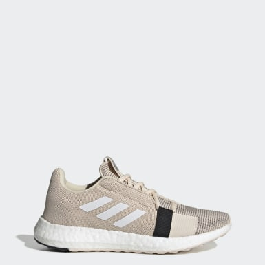 Women Running Beige Senseboost Go Shoes