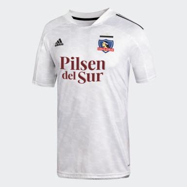 Camiseta Local Club Colo-Colo Blanco Hombre Fútbol
