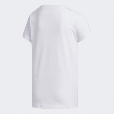 Youth Essentials White Camouflage Tee