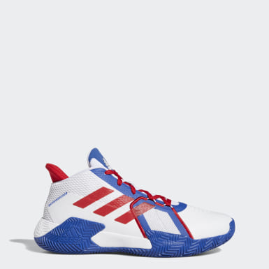 Basketball White Court Vision 2.0 Shoes