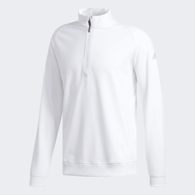 Men's Golf White Classic Club Sweatshirt