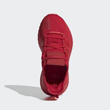 Children Originals Red U_Path Run Shoes